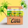 banner caixa pinocos caldo de cana envasado natural limao abacaxi copo 300ml